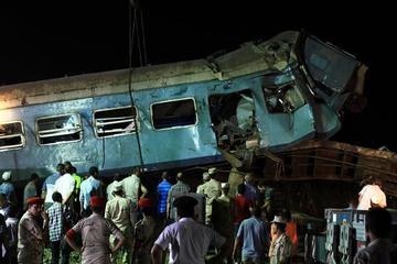 Un choque de trenes en Egipto provoca 37 personas fallecidas