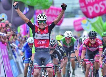 Aristóbulo Cala acaricia el título de la Vuelta a Colombia con más de dos minutos de ventaja