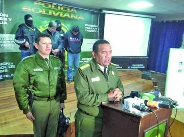El comandante general de la Policía denuncia complot en su contra