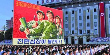 Norcoreanos se alistan para la lucha contra Estados Unidos