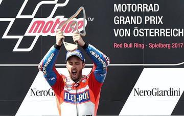 Dovizioso gana el GP de Austria de MotoGP