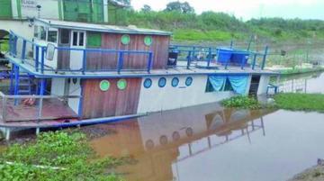 Se hunde el barco hospital de Beni y deja dos muertos