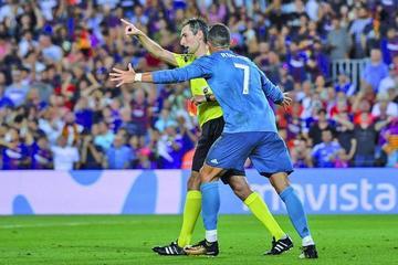 Cristiano Ronaldo suspendido por 5 partidos