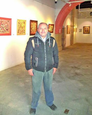 El experto Iván Castellón exhibe en Casa de Moneda