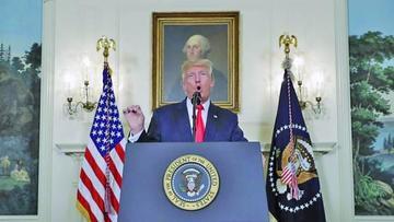 Tras dos días Trump condena los ataques supremacistas