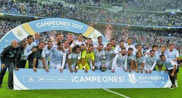 Real Madrid conquista su décima Supercopa de España