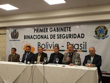 Bolivia y Brasil acuerdan tareas para combatir delitos transfronterizos