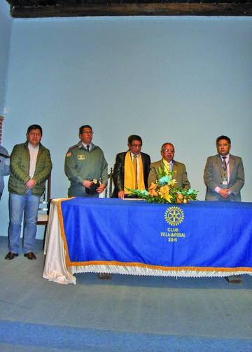 El Rotary Club Villa Imperial tiene un nuevo directorio