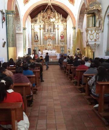 En una misa rememoran la muerte de Vicente Bernedo