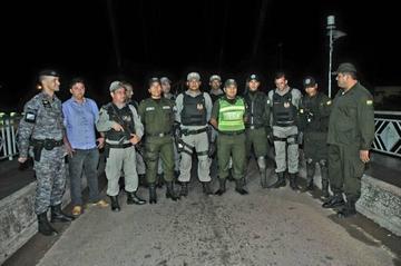 Policías de Bolivia y Brasil cierran 37 puntos fronterizos por 30 días