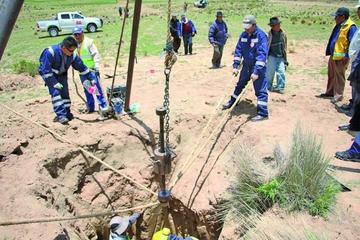 Se aceleran las obras para la fábrica de cemento de Potosí
