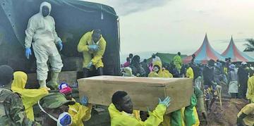 Ya son casi 500 fallecidos por los deslaves en Sierra Leona