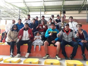 Potosí se corona campeón en raquetbol