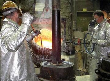 Metalurgistas italianos evalúan el complejo de Karachipampa