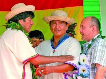 Impulsor de la vía por el Tipnis, es elegido nuevo presidente de la Cidob
