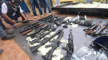 Identifican dos rutas del tráfico de armas que pasan por Bolivia