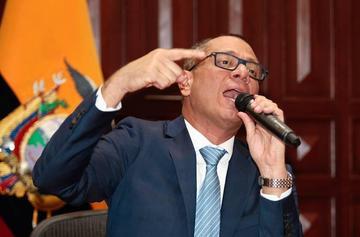 Piden vincular a vicepresidente ecuatoriano en caso Odebrecht