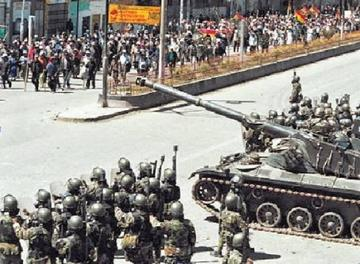 Militares implicados en el caso Octubre Negro no frenan su sentencia
