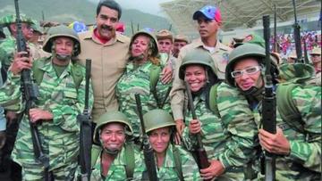 Venezuela prepara los ejercicios militares ordenados por Maduro