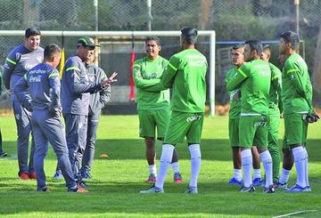 La Verde inicia preparación para el partido contra Perú