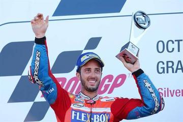 Andrea Dovizioso logra su cuarta victoria y se sitúa como líder del mundial de MotoGP
