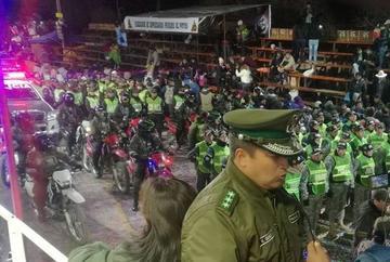 La Policía reporta que hubo dos casos aislados a Ch'utillos 2017