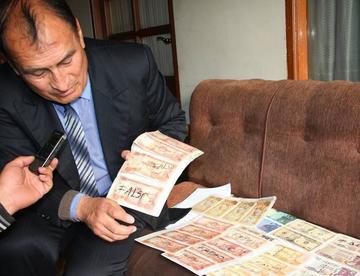Experto enseñará a detectar billetes falsos con el tacto
