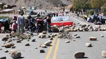 Challapata: Pobladores declaran cuarto intermedio a su bloqueo