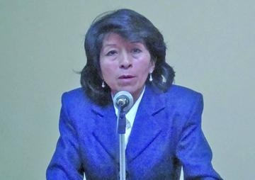 Edith Oros Carrasco es la nueva directora del Notariado de Potosí
