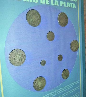 La Casa de Moneda tiene 9  piezas del Río de la Plata