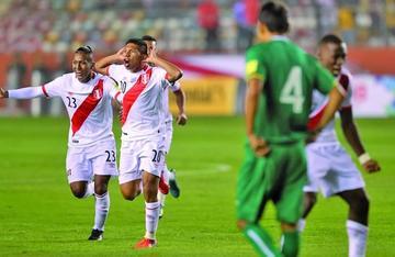 Bolivia cae y revive las esperanzas de Perú