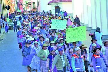 Vecinos suspenden marcha en defensa de la economía