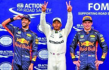 """Hamilton logra la """"pole"""" en el Gran Premio de Italia"""