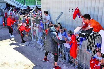 Chile se traslada a Calama de cara al partido ante Bolivia