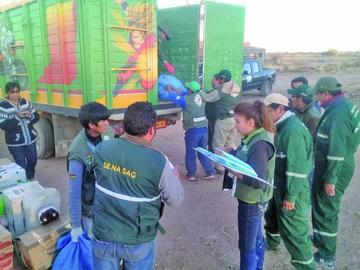 Destruyen más de 37 toneladas de productos foráneos en Tupiza