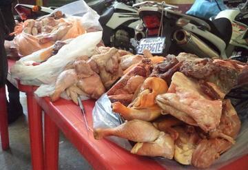 Intendencia incauta más de 80 kilos de carne putrefacta