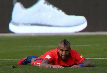Vidal se retira de la selección de Chile