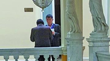 Visita de Pastor Mamani al Legislativo genera suspicacia