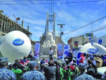 Entel se expande con fibra óptica a municipios Tupiza, Villazón y Uyuni