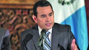 Presidente de Guatemala es citado por la comisión que analiza su antejuicio