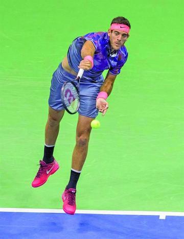 Del Potro enfrentará a Nadal en las semifinales