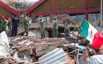 Sísmo sacude Centroamérica y provoca 61 muertos en Mexico