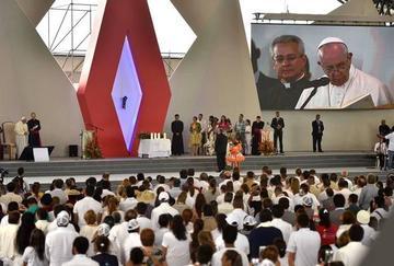 El Papa pide perdonar y  saber la verdad del conflicto en Colombia