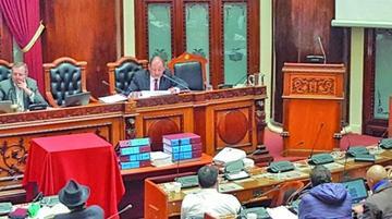 Caso Dircabi: el ministro Romero recibe voto de confianza del Legislativo