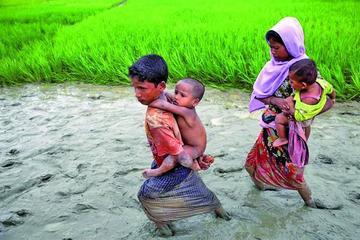 Denuncian que el Ejército planta minas en la frontera de Birmania