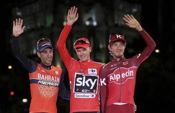 Chris Froome entra en la historia tras adueñarse de la Vuelta de España