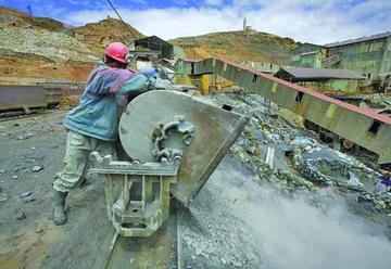 El buen precio del zinc incrementa los ingresos por las regalías mineras
