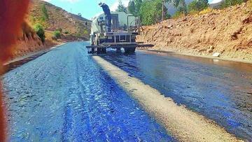 Avanza el proyecto vial de Don Diego a Huari Huari