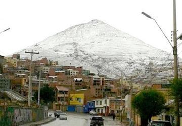 Declaran alerta naranja por nevadas en Potosí y otros 3 departamentos