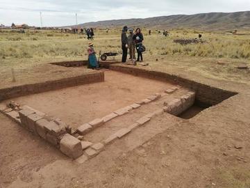 Tiwanaku: hallan más áreas nuevas